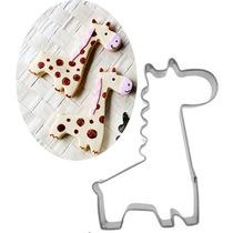 Molde Cortante Jirafa Fondant Cupcake Reposteria