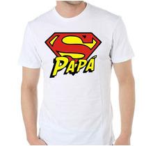 Remera Diseños Exclusivos! Estampada Sublimada Super Papa