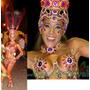 Lujoso Traje Carnaval Comparsa Kamarr Gualeguaychu Completo