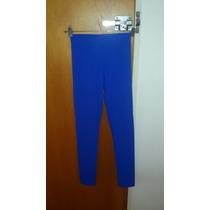 Calza Nueva Talle 2 Color Azul Eléctrico Última Moda