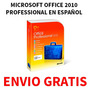 Microsoft Office 2010 Professional Plus (1 Dvd) + Envio