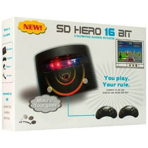 Sd Hero 16 Bit Consola Sega Con Juegos Jugueteriawally