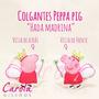 Souvenirs Peppa Pig D Tela Nacimientos Cumples Babyshower Y+