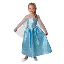 Disfraz Elsa Frozen Original Disney Store Talle S Giro Didac