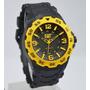 Reloj Cat 171 Malla De Caucho, Caja De Resina, Wr 100mts