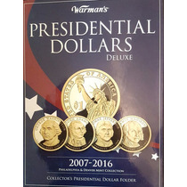 Album Estados Unidos Con 72 Monedas Presidentes Ceca P Y D