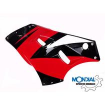 Carenado Izquierdo Rojo Mondial Rd 200 K Original