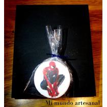Tizas Con Pizarra - 12 Un. - Spiderman - Hombre Araña