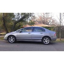Honda Civic 2008 -exs-automatico-cuero- El Mas Full