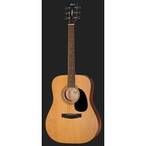 Guitarra Cort Acústica Ad810 Op Natural C/funda