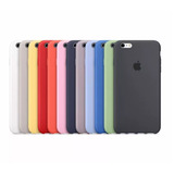 Funda Silicona Silicone Case Para Apple Iphone 6 6s Plus