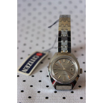 Reloj Mujer Vintage Citizen 17 Jewels Automatico Dial Plat