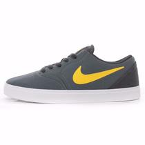 Zapatillas Nike Sb Check Cnvs Skate Board Terciopelo Urbanas