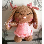 Coneja Amigurumi Tejido Al Crochet Artesanal