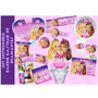 Kit Imprimible Barbie Castillo De Diamantes Tarjetas Invita8