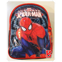 Mochila Infantil Para Jardin Hombre Araña 12 Spiderman