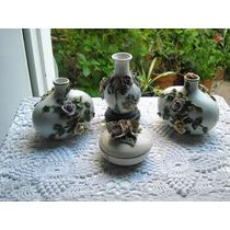 808- Antiguo Juego De Tocador De Porcelana