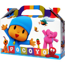 Pocoyo Bolsita Golosinera Souvenir Infantil Pack X 10