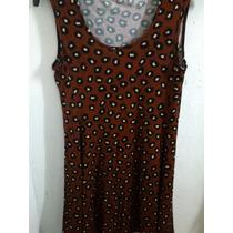 Vestido Corto Falda Plato Acampanado Con/sin Estampado.