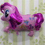 Globo Metalizado My Little Pony Gigante Caminante Deco X2