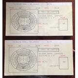 Tickets Antiguos De Ubicacion Del Recital De Paul Mc Cartney