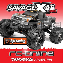 Hpi 109083 Savage X Rtr New Version 2015!! Auto A Radio Cont