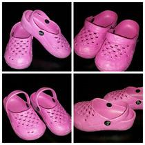 Sandalias Imitación Crocs Para Nena