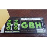 Entradas Concierto Gbh En Federacion De Box 4/1993 Exploited