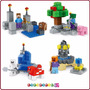Minecraft 4 Sets De Minifiguras -total 243 Pzs! E-commerce07