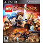 Juego Ps3 Lego The Lord Of The Rings, Original, Nuevo