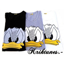 Pack 10 Remeras Larguitas Disney / Looney Tunes