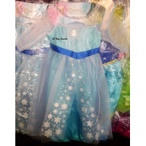 Disfraz Nena De Frozen Elsa Aventura Congelada Imp. Urquiza