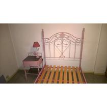 Juego Completo De Dormitorio Con Comoda Y Mesa De Luz