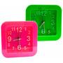 Reloj Despertador Analogico Rectangular Envio Promo Caba