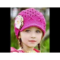 Gorros Tejida A Crochet Para Bebe, Nenas Y Adolescentes!!!!!