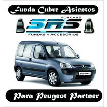 Funda Cubre Asientos D Cuero Ecológ P/peugeot Partner