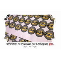 Etiquetas Troqueladas Para Candy Bar