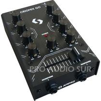 Mixer Dj Tecshow Criomix Go 2 Canales Consola Mezclador Mic