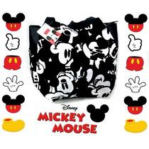 Bolso Mickey Mouse Licencia Original Gran Capacidad!