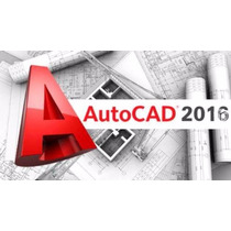 Autocad 2016 (32 Bits/ 64 Bits) +regalo. Full Pack