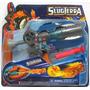 Pistola Lanzadora Slugterra Bajoterra 2 Dardos 7 Babosas Exc