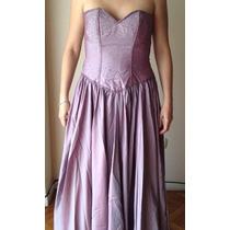 Vestido De Fiesta Largo Ideal 15 Años, Madrinas, Egresadas