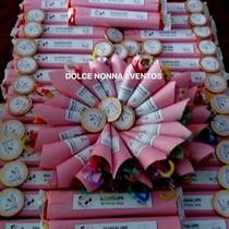 Candy Bar Minnie Bebé P/30 Chicos/90 Golosinas .-!!!