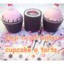Dijes Cintas X 50 + Porta Dije Cupcake O Torta + Anillo