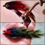 Moscas Para La Pesca De Dorado Y Tararira (combo De 10 U)