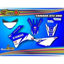 Kit Calcos Xtz 250 Deportivas Laminado Grueso 3m