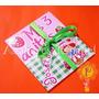 Frutillitas Invitaciones Tarjetas Cumpleaños Personalizadas