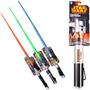 Sable Laser 100% Retráctil Con Luz Y Sonido Espada Star Wars
