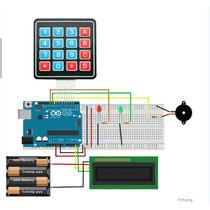 Kit Arduino Control De Acceso Y Alarma Ptec + Tutorial