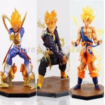 Muñecos Figuras Dragon Ball Z - Goku Vegeta Trunks & Freezer